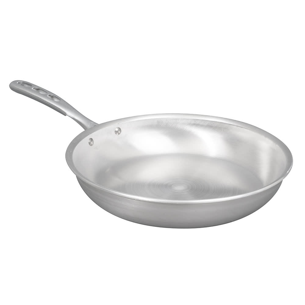 "Vollrath 67112 12"" Aluminum Frying Pan w/ Vented Metal Handle"