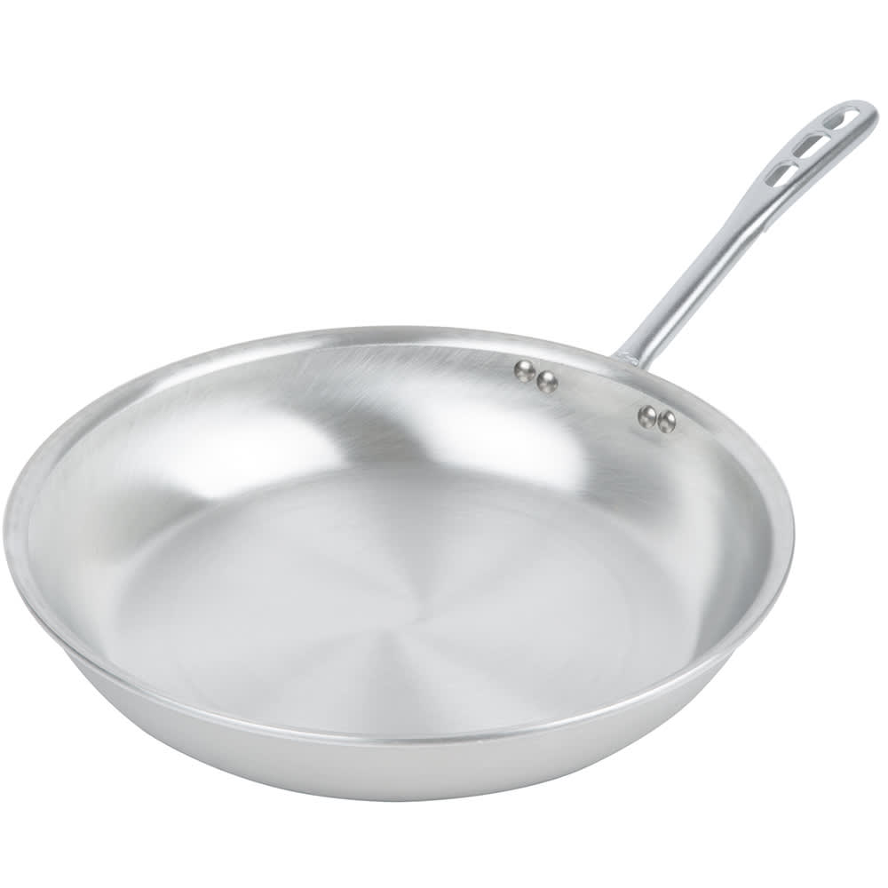 "Vollrath 67114 14"" Aluminum Frying Pan w/ Vented Metal Handle"
