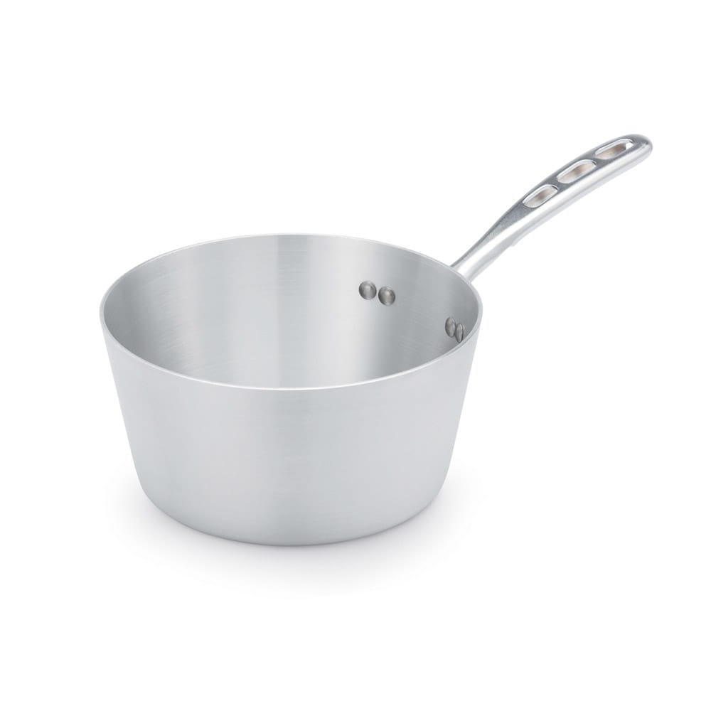Vollrath 67303 3.75 qt Aluminum Saucepan w/ Vented Metal Handle