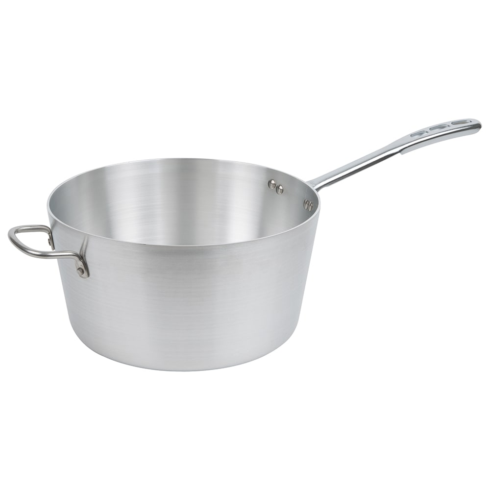Vollrath 67308 8 qt Aluminum Saucepan w/ Vented Metal Handle