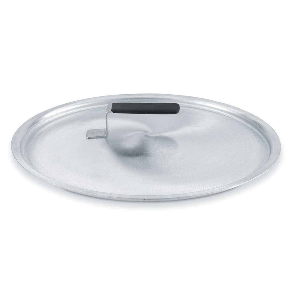 "Vollrath 67411 6.62"" Domed Stock Cover, Aluminum"