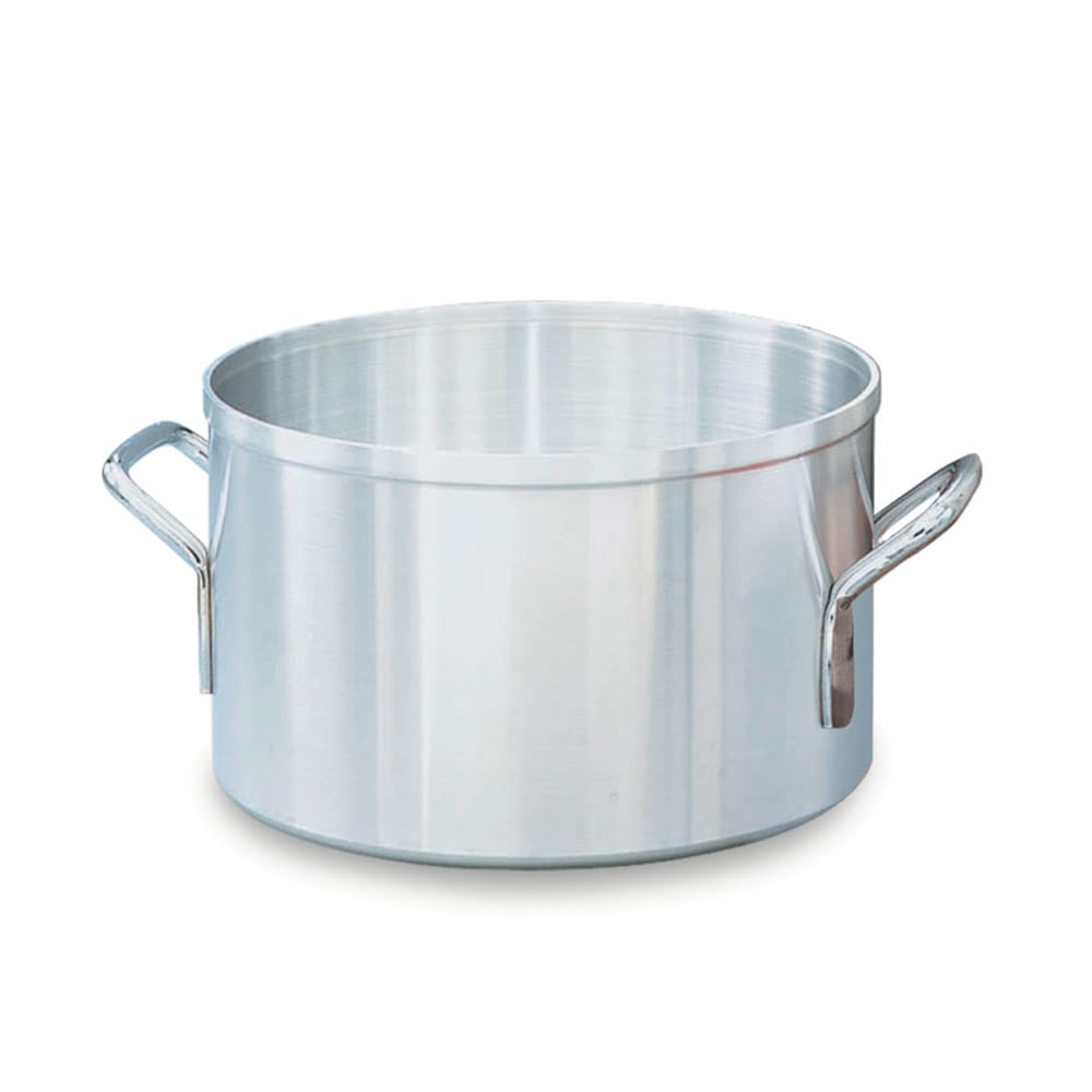 """Vollrath 67414 14 qt Aluminum Sauce Pot - 12"""" x 7.5"""""""