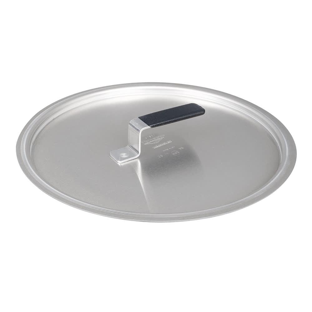 """Vollrath 67521 12.62"""" Flat Stock Pot Cover, Aluminum"""