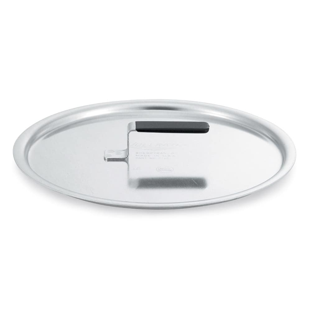 "Vollrath 67561 16.87"" Flat Stock Pot Cover, Aluminum"