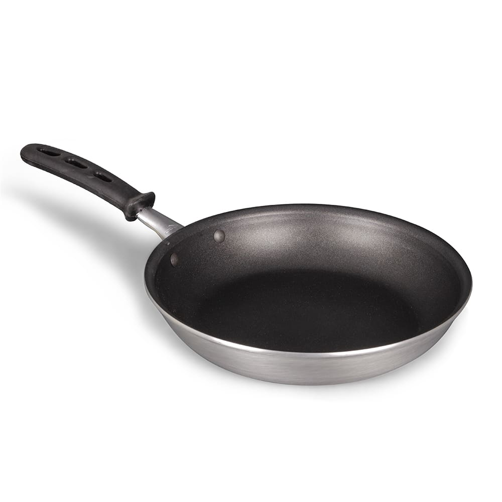 "Vollrath 67610 10"" Non-Stick Aluminum Frying Pan w/ Vented Silicone Handle"