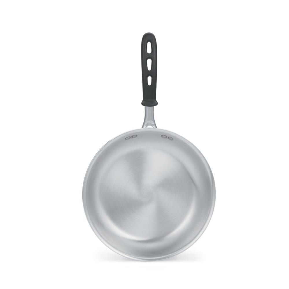 """Vollrath 67910 10"""" Aluminum Frying Pan w/ Vented Silicone Handle"""