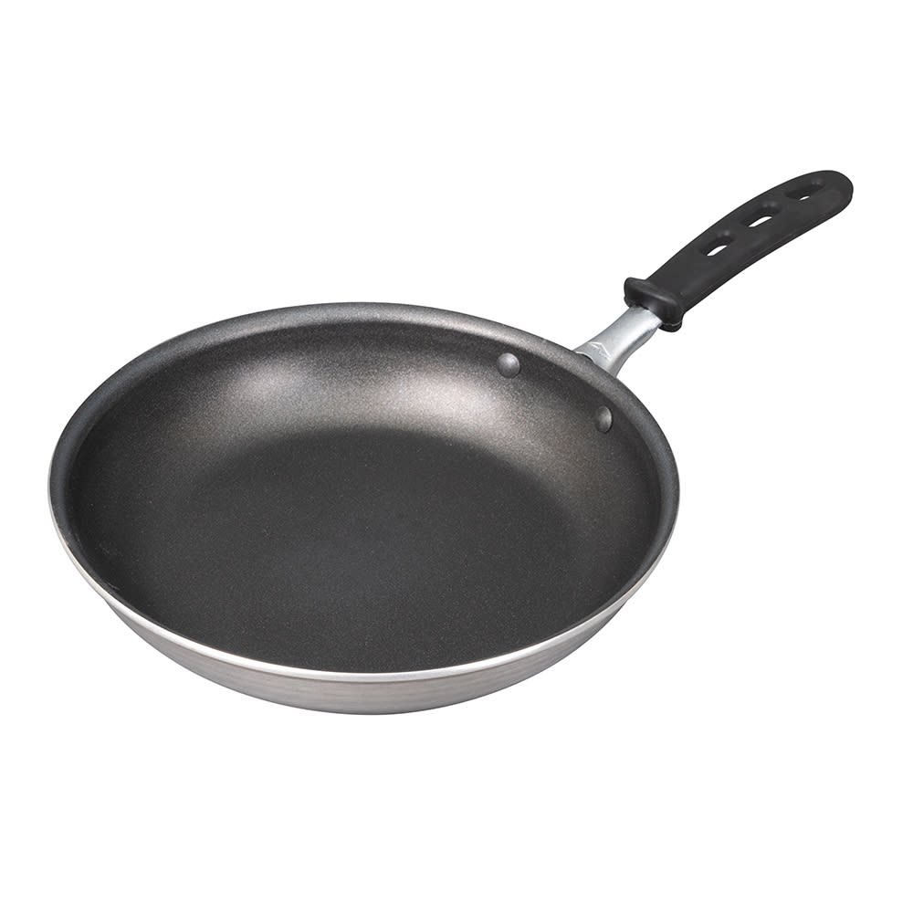 "Vollrath 67930 10"" Non-Stick Aluminum Frying Pan w/ Vented Silicone Handle"