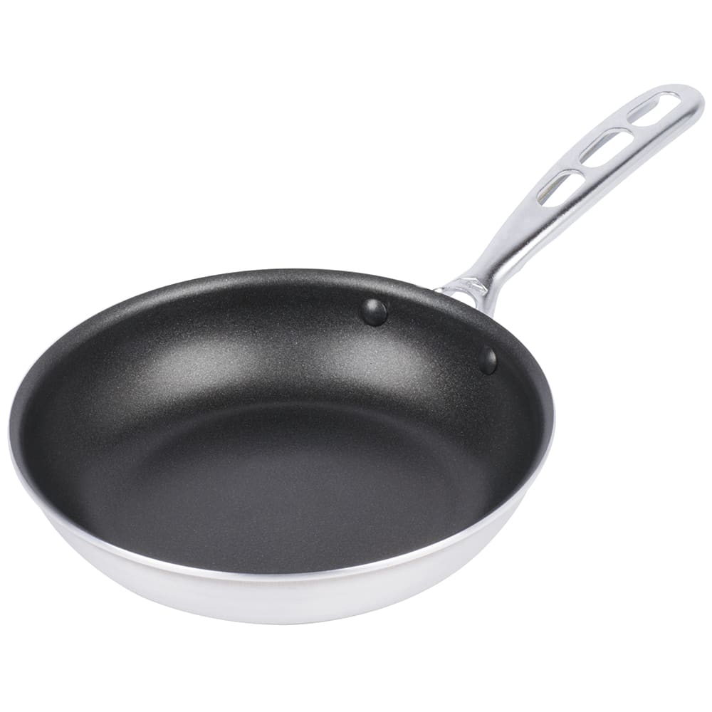"Vollrath 67948 8"" Non-Stick Aluminum Frying Pan w/ Vented Metal Handle"