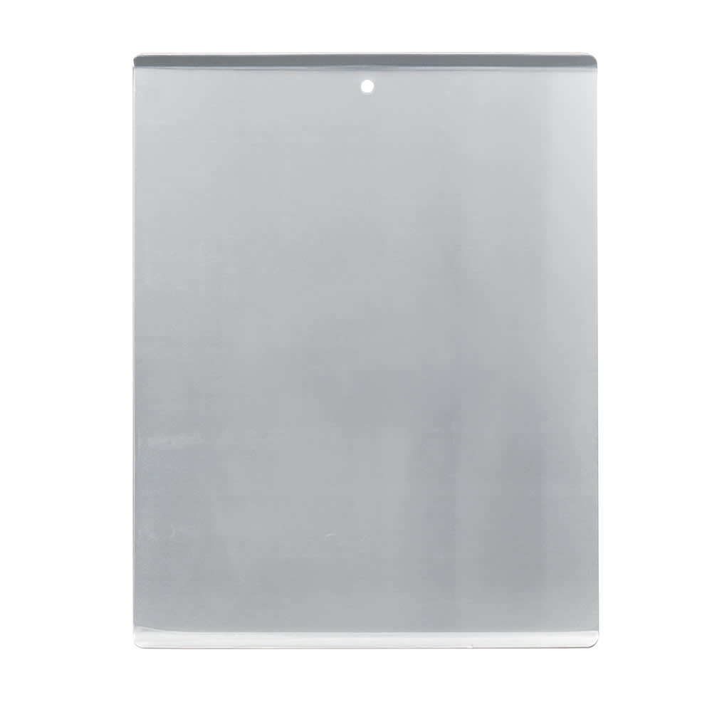 """Vollrath 1/2 Half Size Bun / Sheet Pan - 17"""" x 14"""" x 1"""", 10 gauge Aluminum, Natural Finish - 68085"""