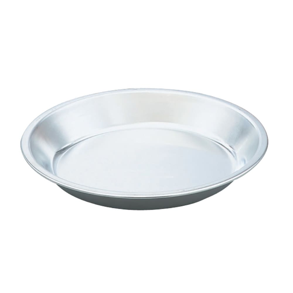 "Vollrath 68089 9 3/4"" Aluminum Pie Plate"