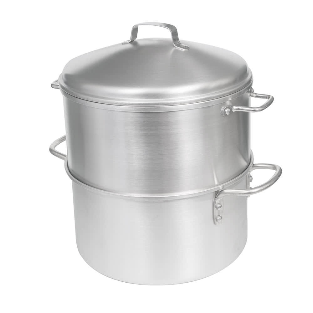 "Vollrath 68123 5-qt Aluminum Steamer Basket, 9.125""H"