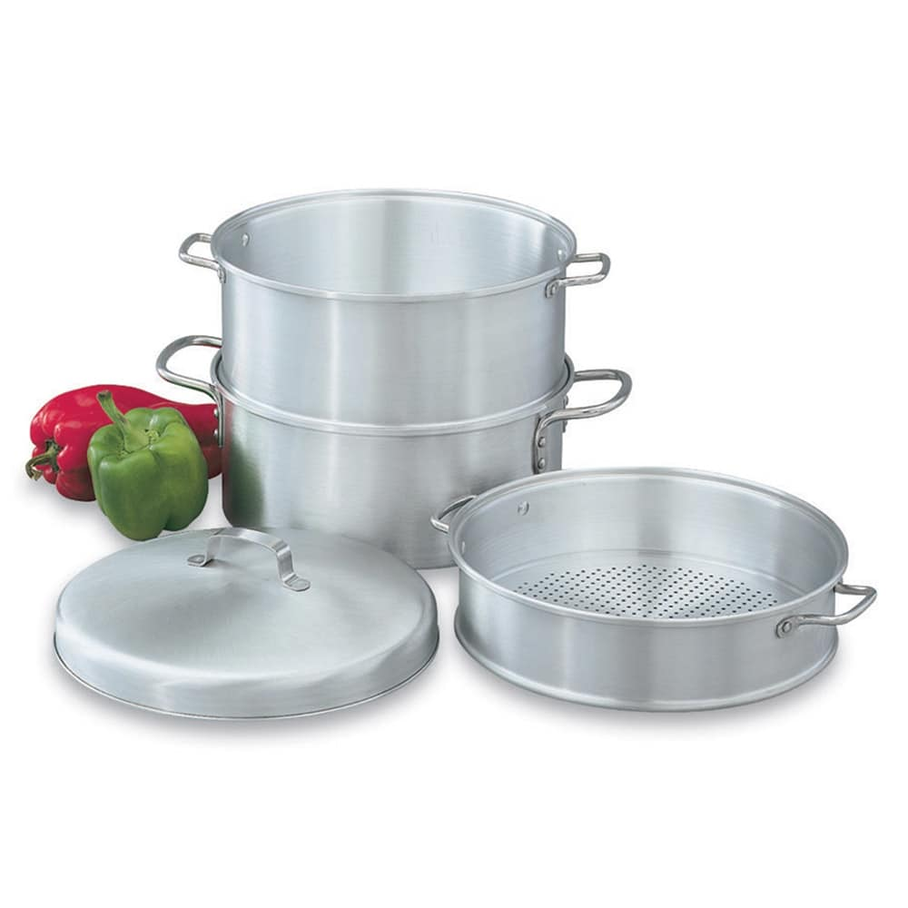 "Vollrath 68125 5-qt Aluminum Steamer Basket, 10.3125""H"