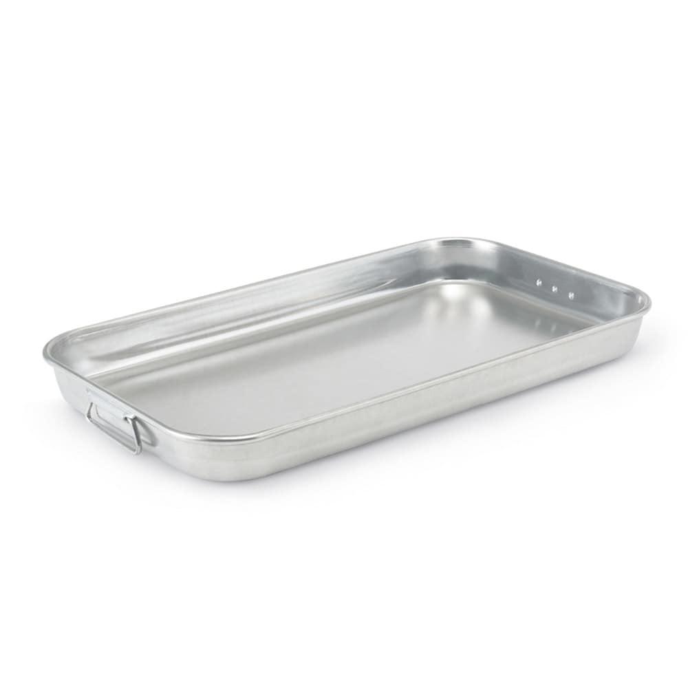 "Vollrath 68253 Baking/Roasting Pan with Handles - 23x13"" Aluminum"