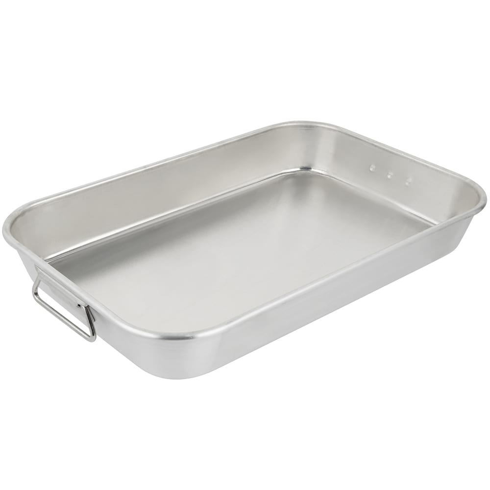 "Vollrath 68257 7 qt Baking/Roasting Pan - 17 5/8x11 3/4"" Aluminum"
