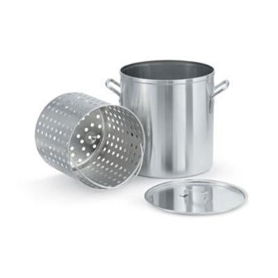 """Vollrath 68273 80-qt Aluminum Steamer Basket, 15.5"""" dia., 16.75""""H"""