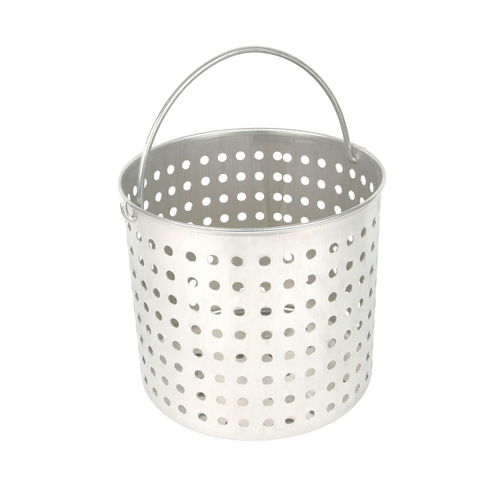 """Vollrath 68289 20 qt Aluminum Steamer Basket, 11.25"""" dia., 7.25""""H"""