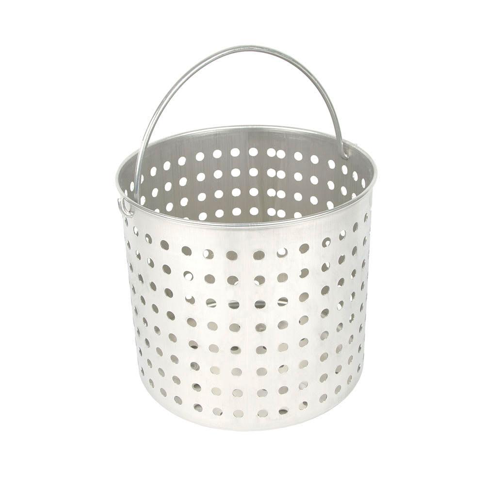 """Vollrath 68292 60-qt Aluminum Steamer Basket, 15.5"""" dia., 11.75""""H"""