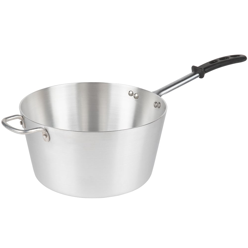 Vollrath 68308 8-qt Aluminum Saucepan w/ Vented Metal Handle