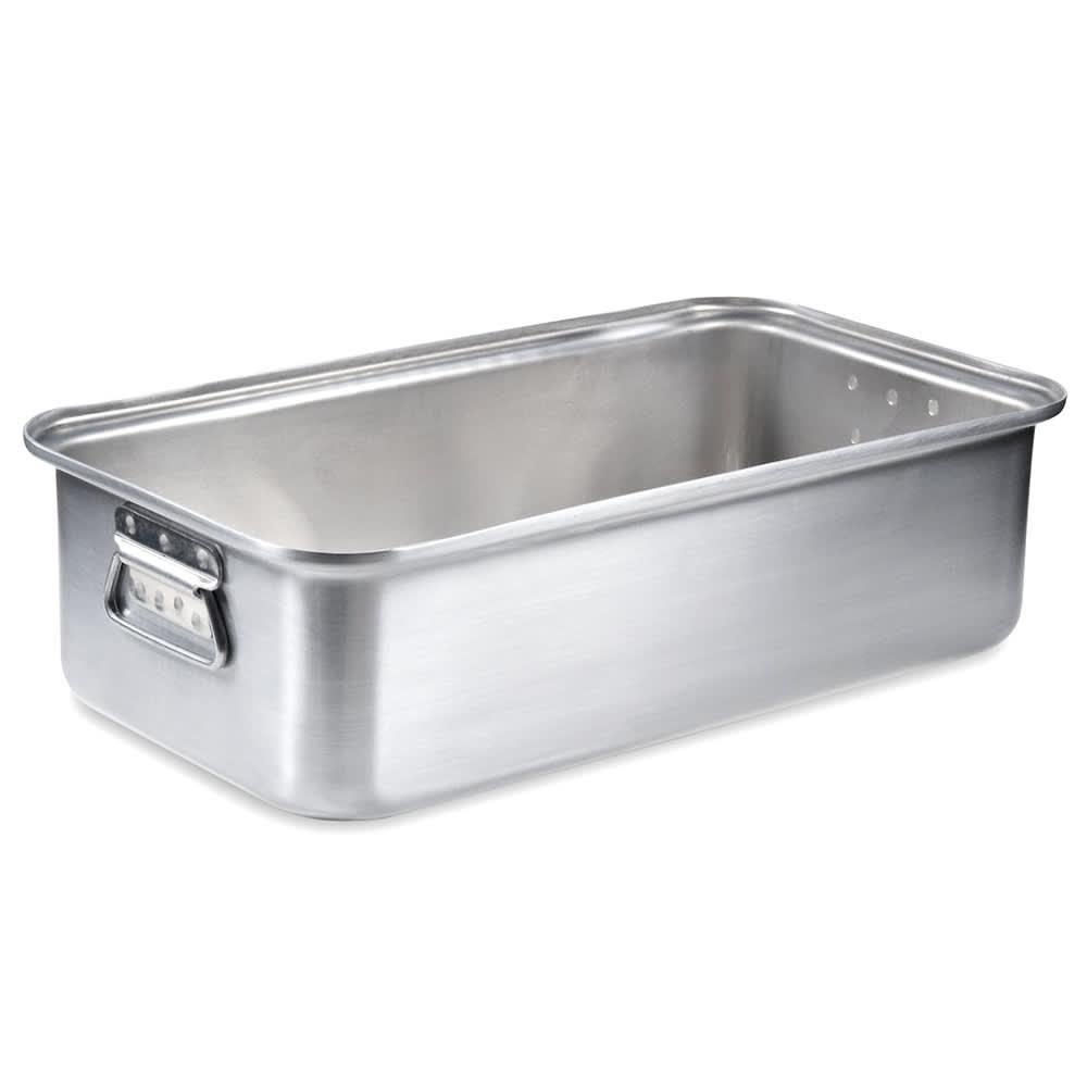 "Vollrath 68367 17 13/16 qt Roasting Pan Bottom - 20x11 1/8x5 1/2"" Aluminum"