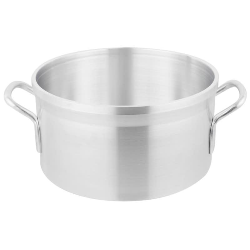 """Vollrath 68413 12 qt Aluminum Sauce Pot - 12"""" x 6.375"""""""