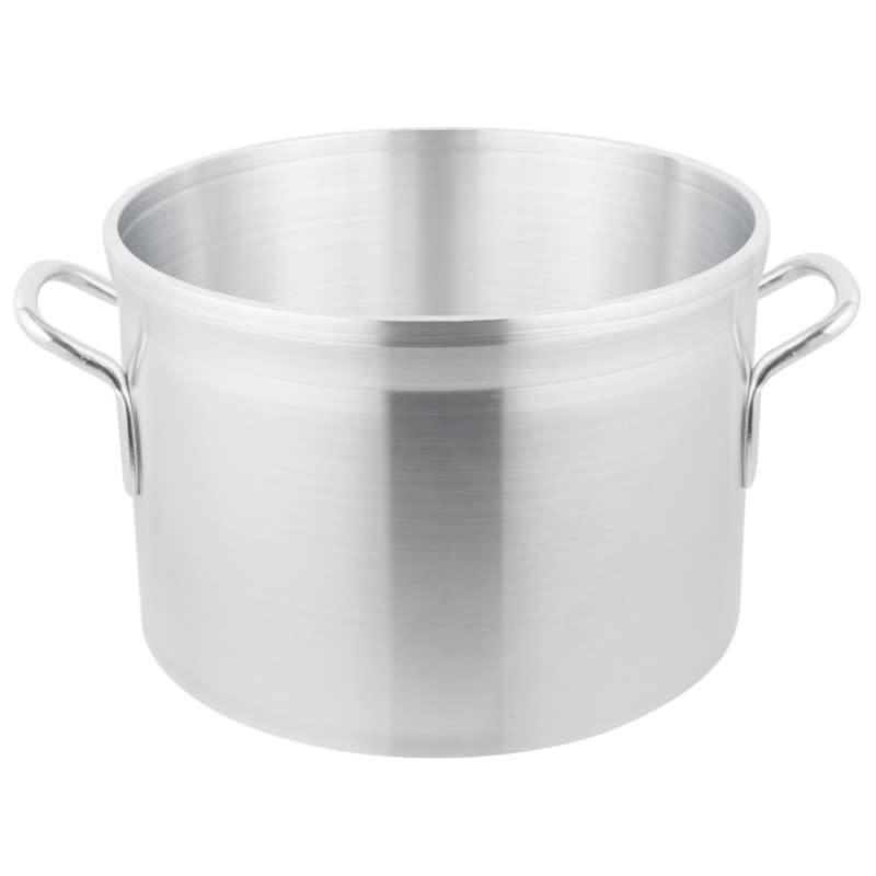"""Vollrath 68420 20 qt Aluminum Sauce Pot - 13"""" x 9"""""""