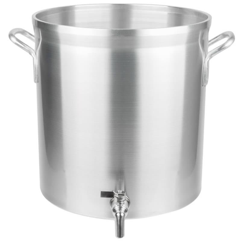 Vollrath 68641 40-qt Aluminum Stock Pot w/ Faucet