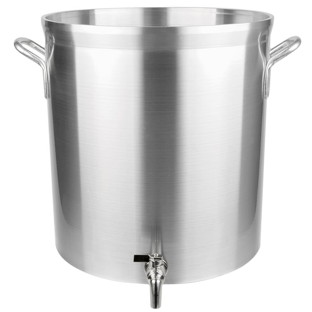 Vollrath 68661 60-qt Aluminum Stock Pot w/ Faucet