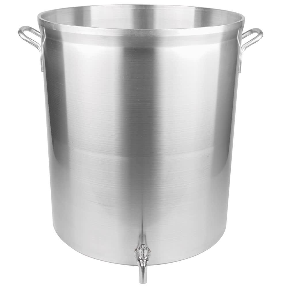 Vollrath 68701 120 qt Aluminum Stock Pot w/ Faucet