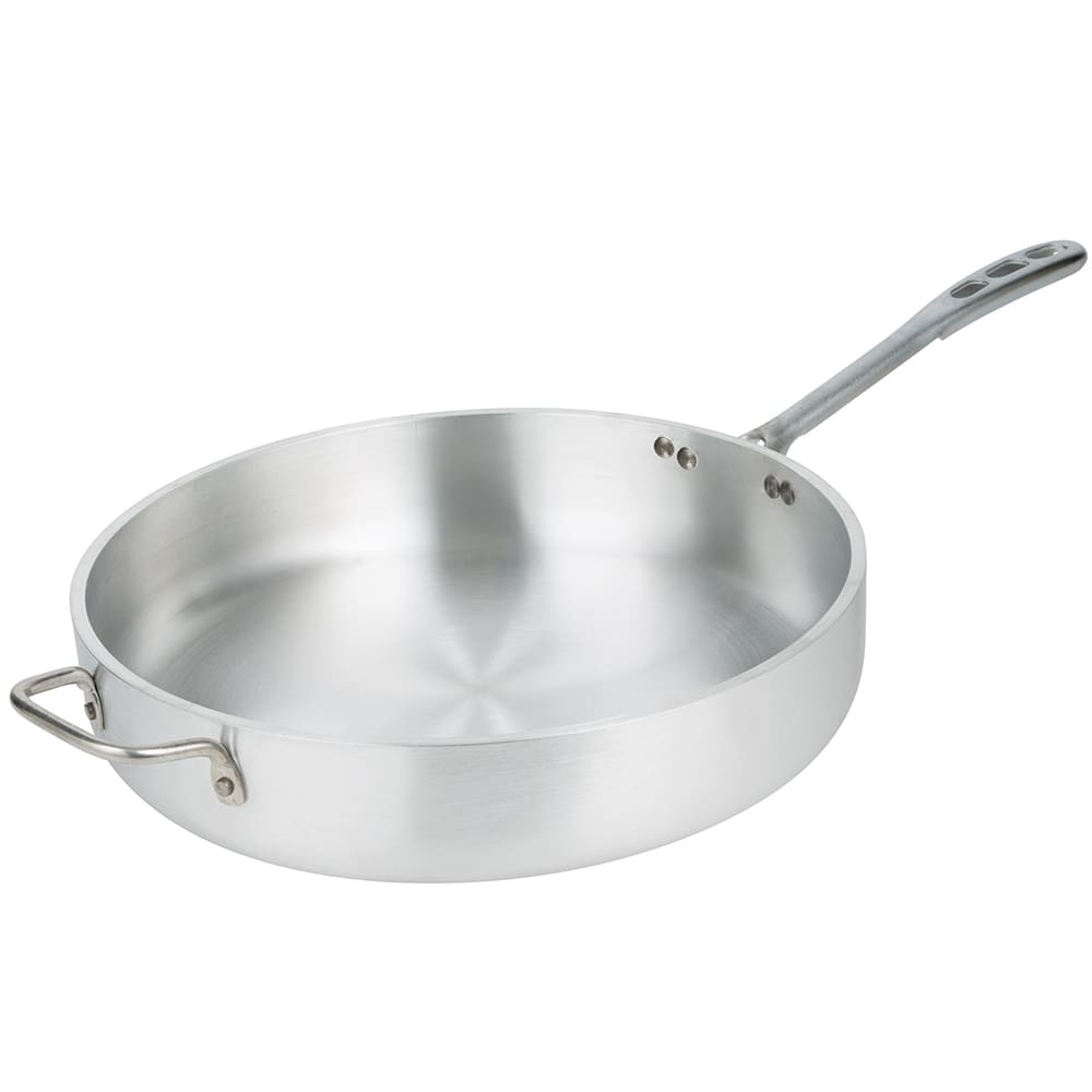 "Vollrath 68747 14"" Saute Pan - Heavy-Duty, Plated Handle, Aluminum"