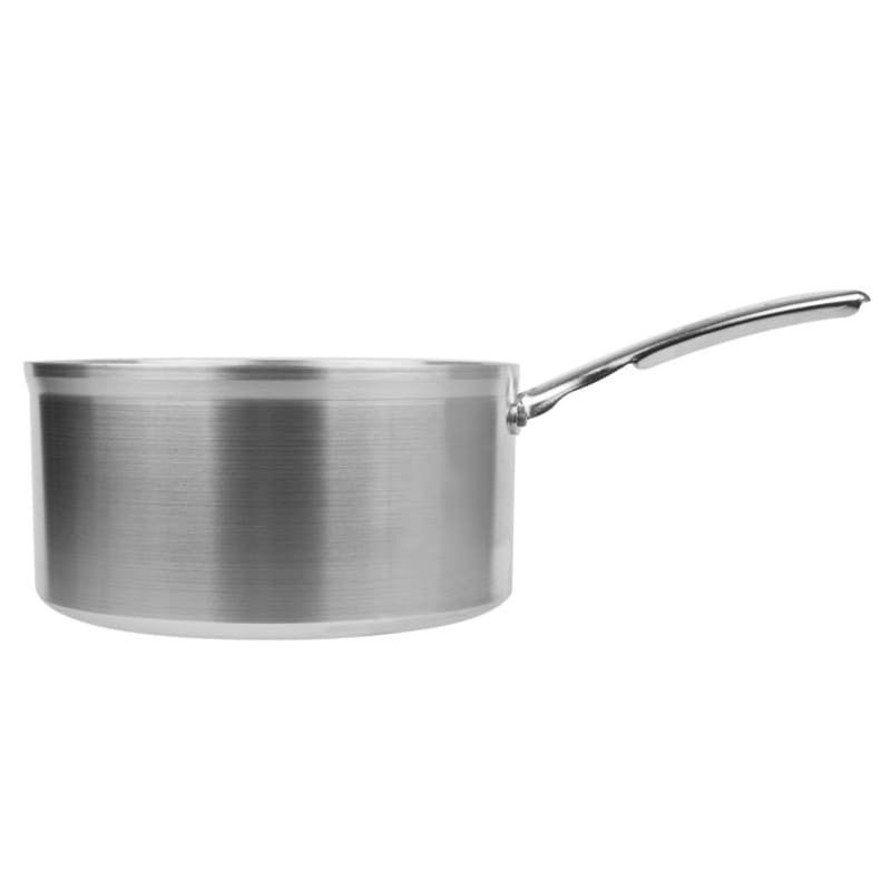Vollrath 69406 6 qt Aluminum Saucepan w/ Vented Metal Handle