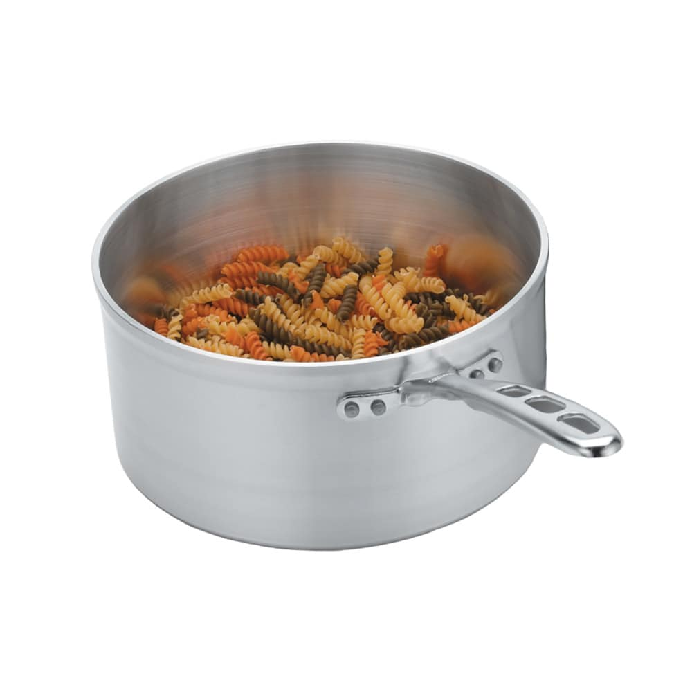 Vollrath 69408 8 qt Aluminum Saucepan w/ Vented Metal Handle