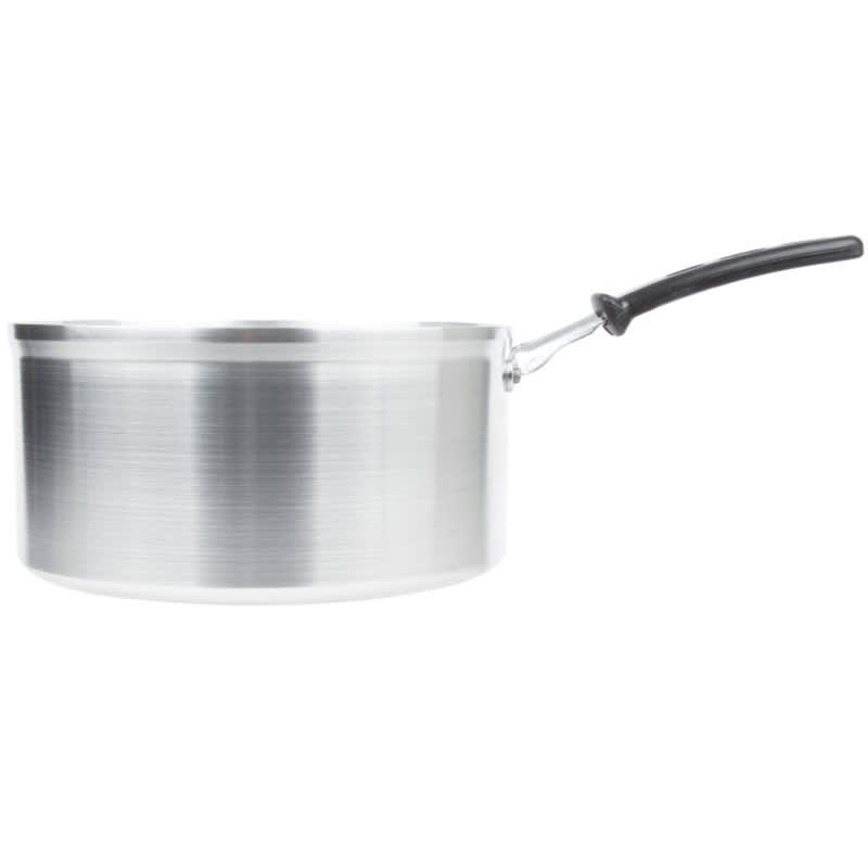 Vollrath 69446 6-qt Aluminum Saucepan w/ Vented Metal Handle