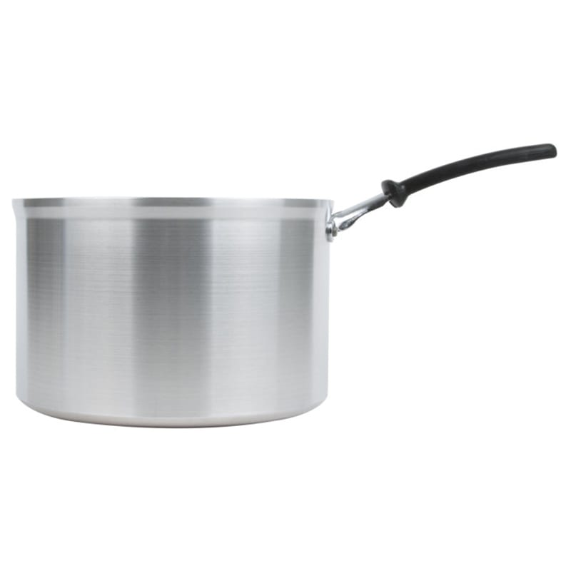 Vollrath 69448 8 qt Aluminum Saucepan w/ Vented Metal Handle