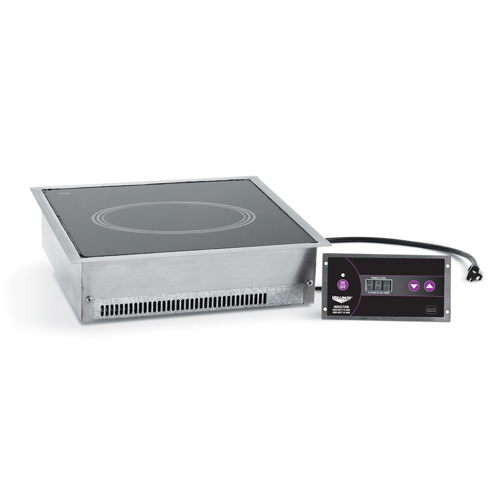 Vollrath 69521 Drop-In Commercial Induction Cooktop w/ (1) Burner, 208 240v/1ph