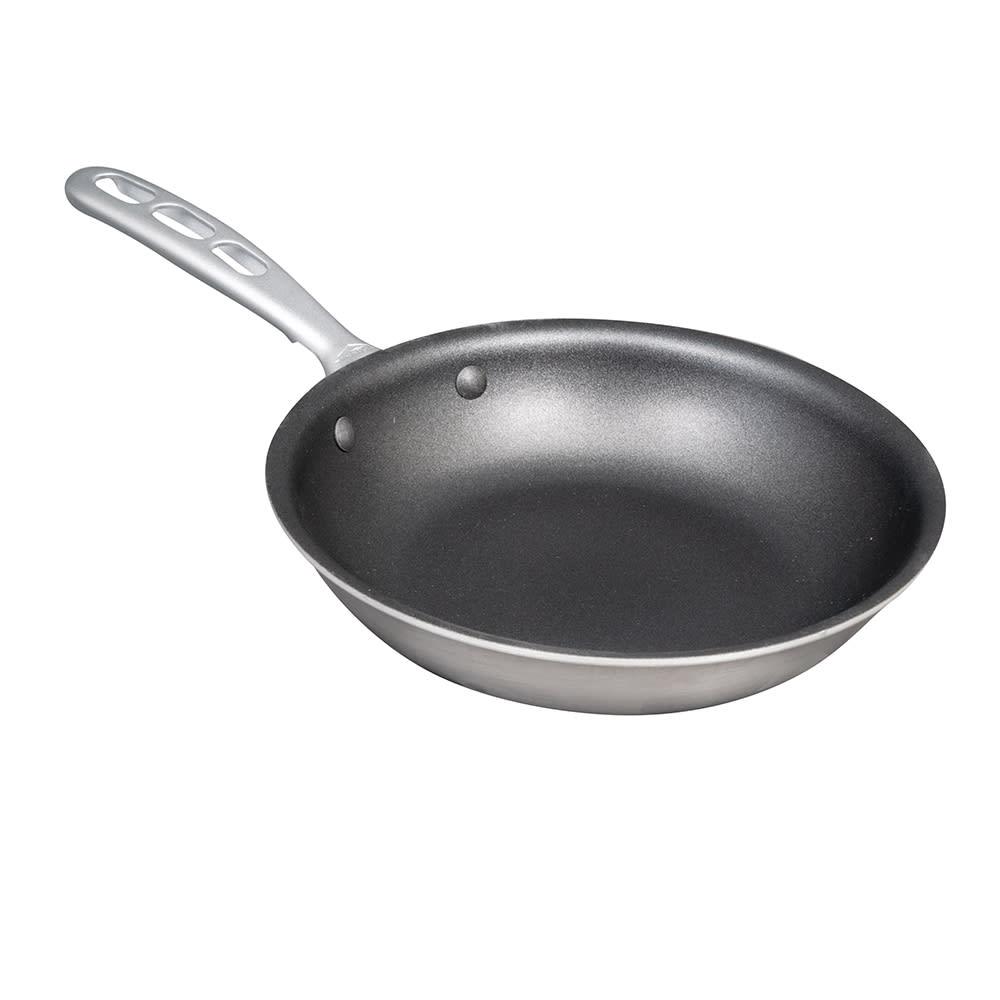 """Vollrath 69608 8"""" Non-Stick Steel Frying Pan w/ Vented Metal Handle"""