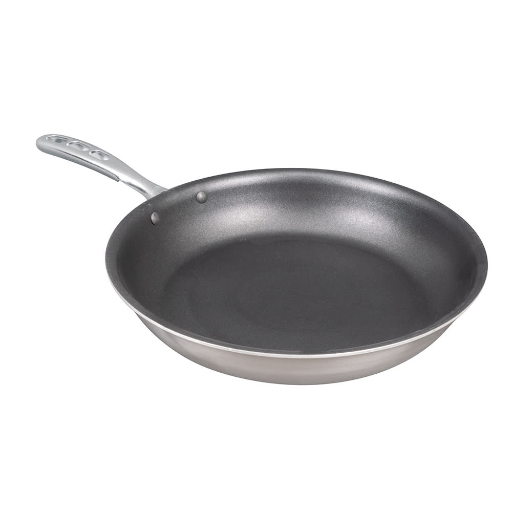 "Vollrath 69612 12"" Non-Stick Steel Frying Pan w/ Vented Metal Handle"