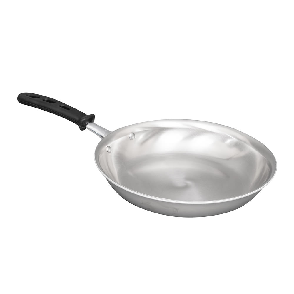 "Vollrath 69810 10"" Stainless Steel Frying Pan w/ Vented Silicone Handle"