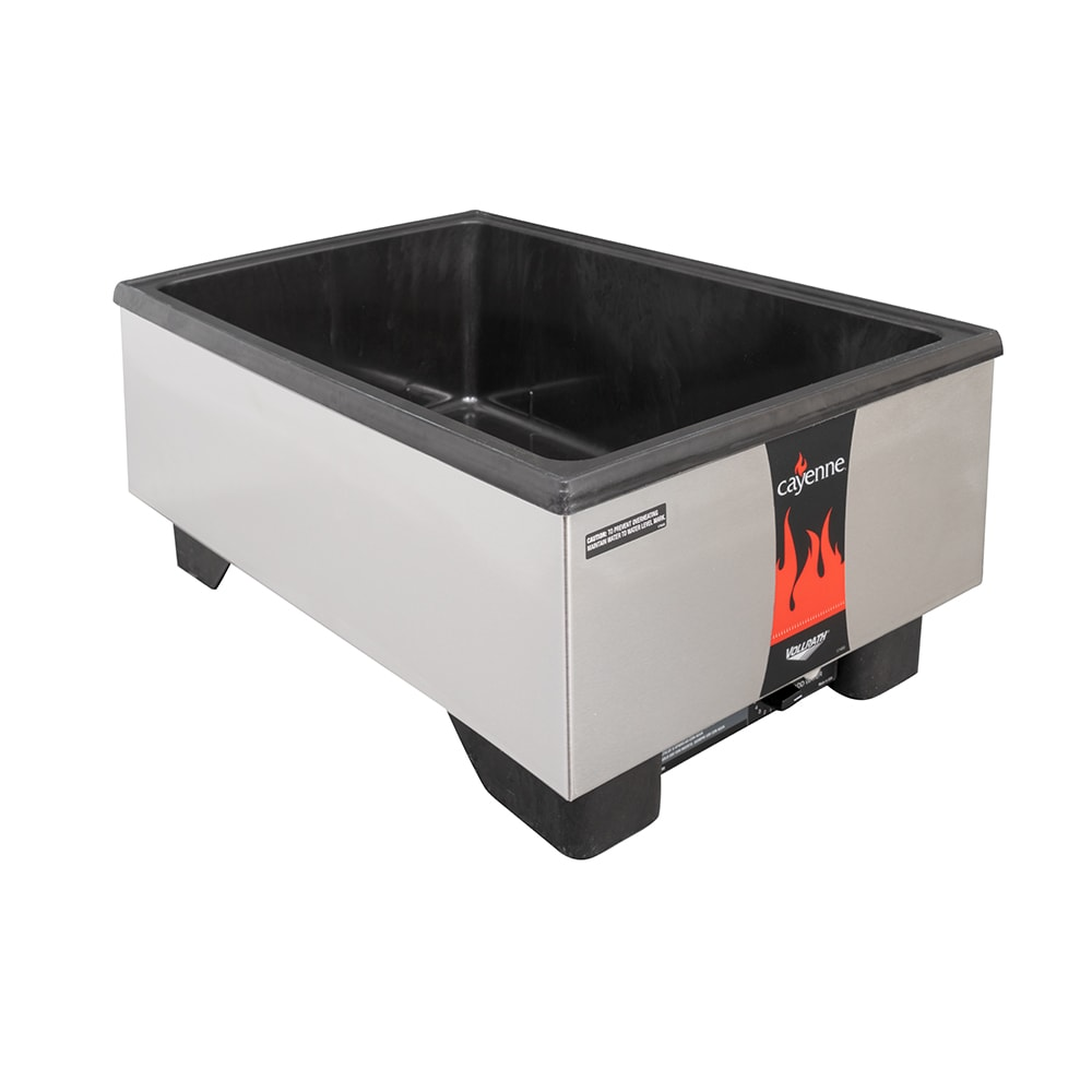 Vollrath 71001 Countertop Food Warmer w/ (1) Full Size Pan Capacity, 120v