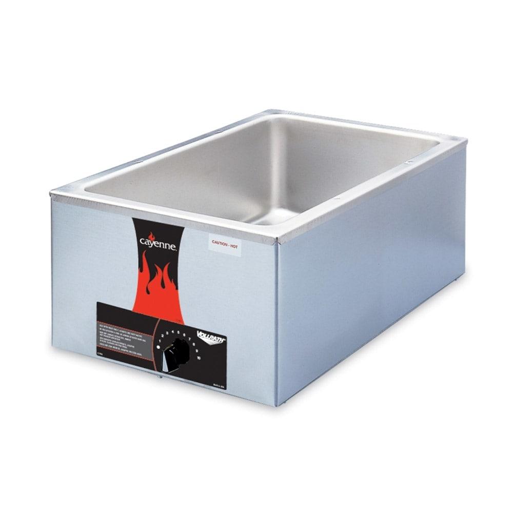 Vollrath 72000 Countertop Food Warmer w/ (1) Full Size Pan Capacity, 120v