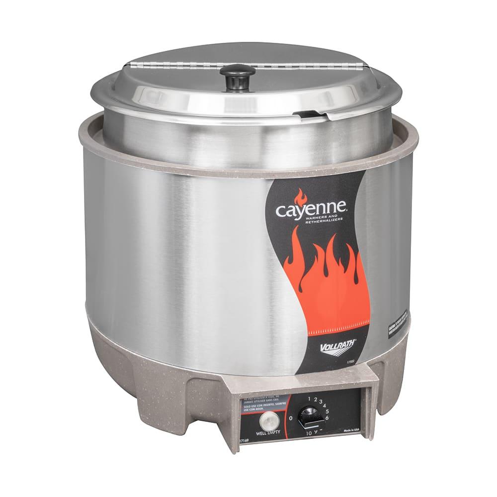 Vollrath 72009 11-qt Countertop Soup Warmer w/ Thermostatic Controls, 120v