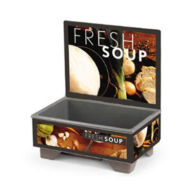 Vollrath 720200102 Full-Size  Soup Merchandiser Base - Tuscan, Menu Board 120v