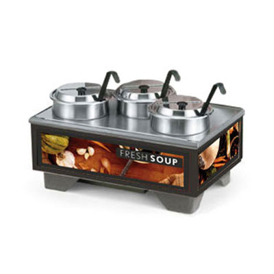 Vollrath 720201002 Full-Size  Soup Merchandiser Base - Tuscan, 4 qt Accessories 120v