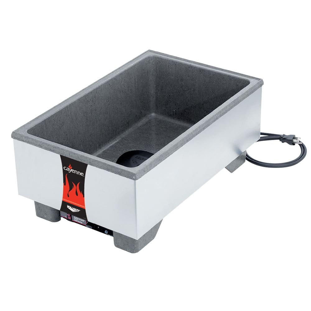 Vollrath 72023 Countertop Food Warmer w/ (1) Full Size Pan Capacity, 120v