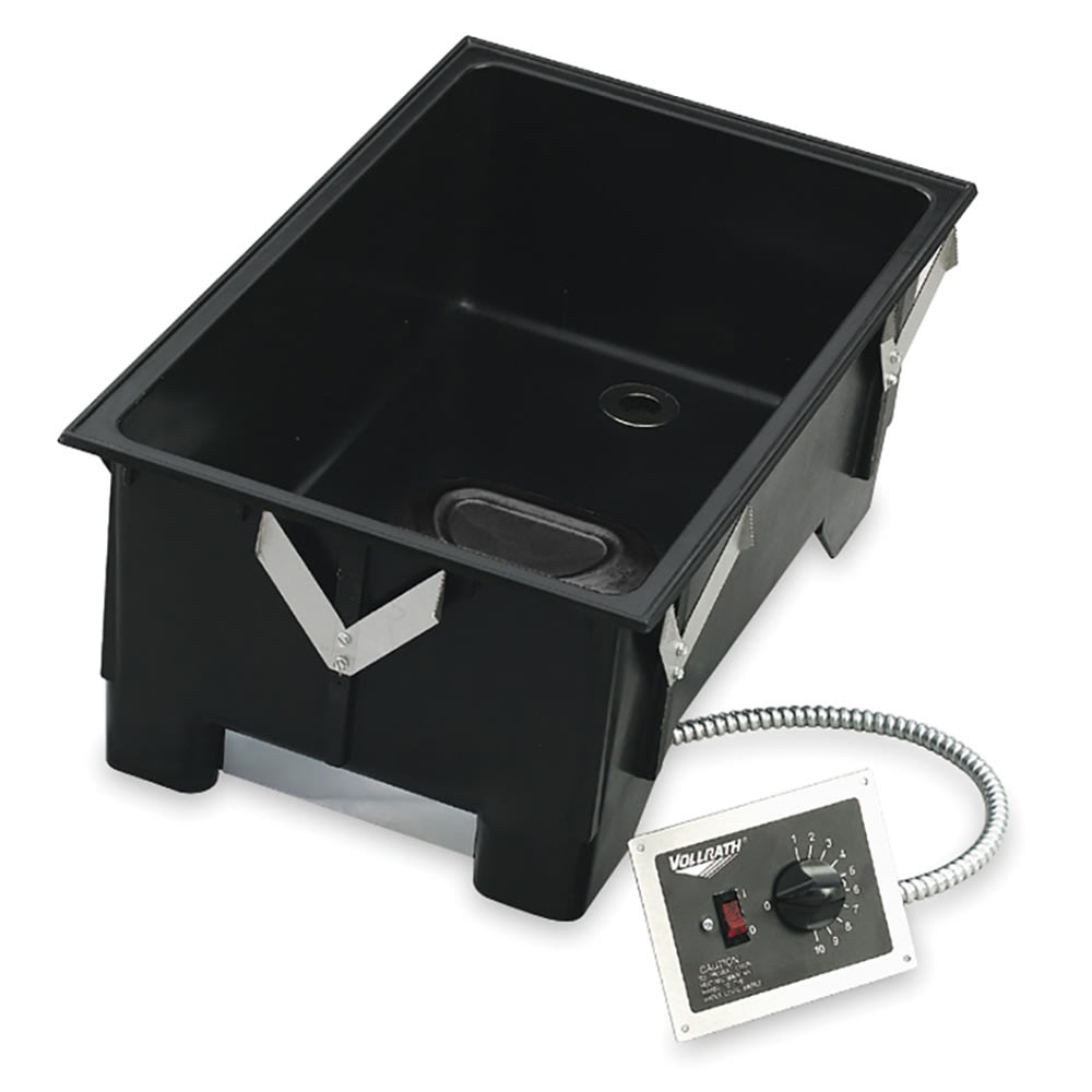 Vollrath 72107 Drop-In Hot Food Well w/ (1) Full Size Pan Capacity, 120v