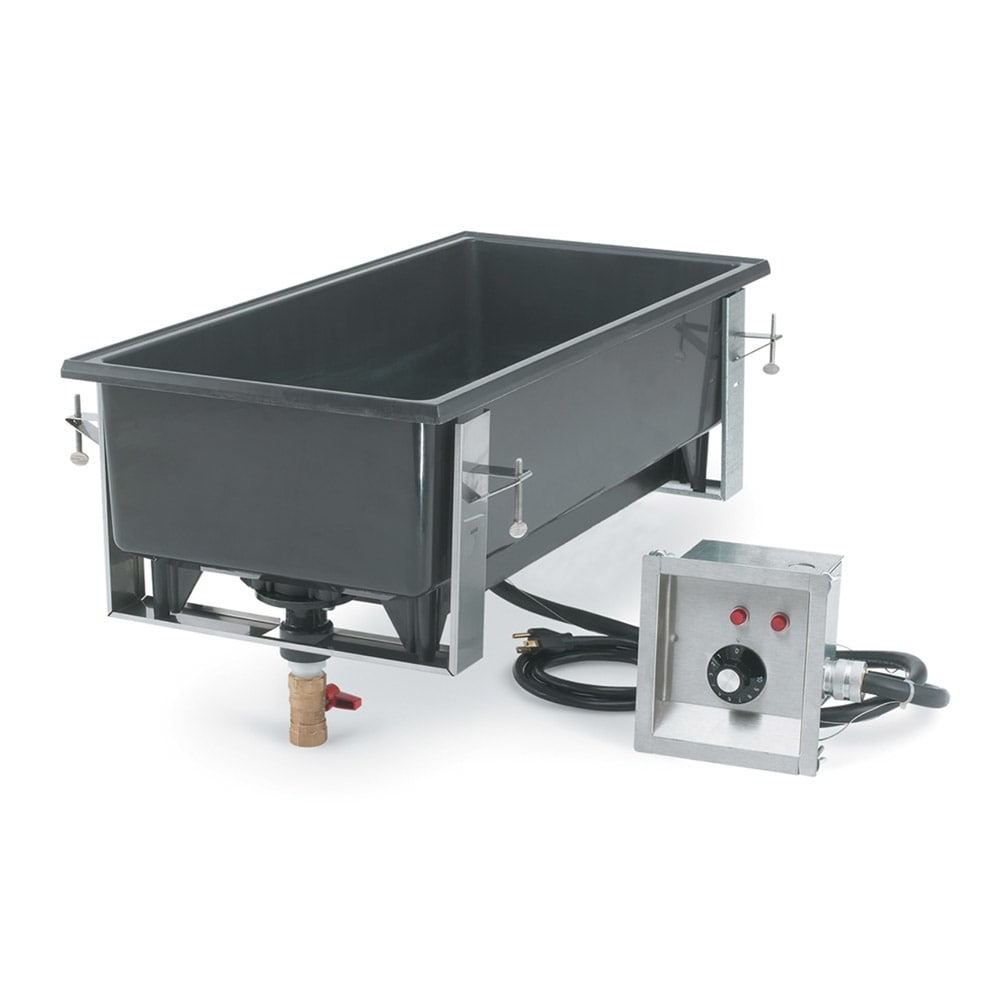 Vollrath 72109 Drop-In Hot Food Well w/ (4) 1/3 Size Pan Capacity, 120v