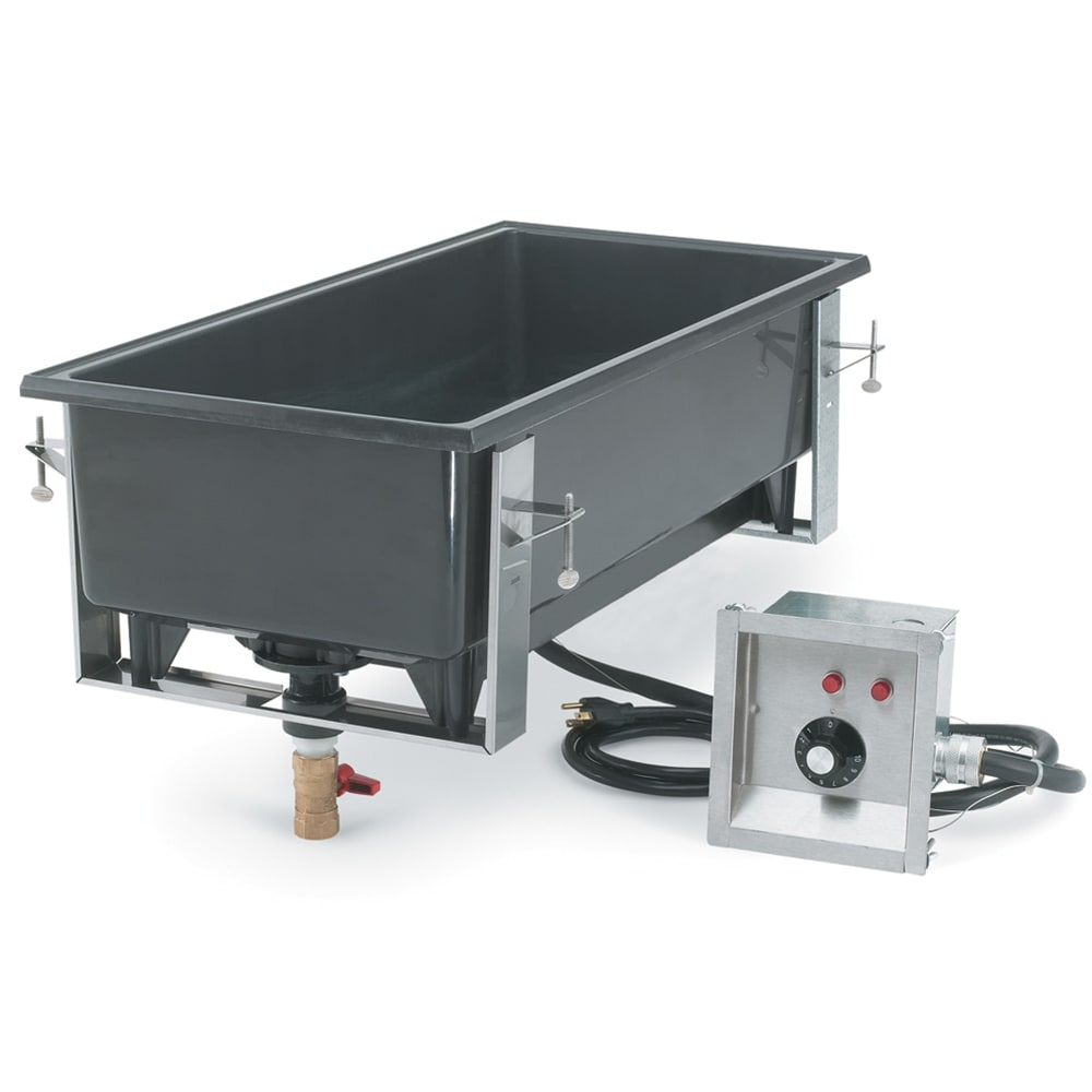 Vollrath 72112 Drop-In Hot Food Well w/ (4) 1/3 Size Pan Capacity, 240v/1ph