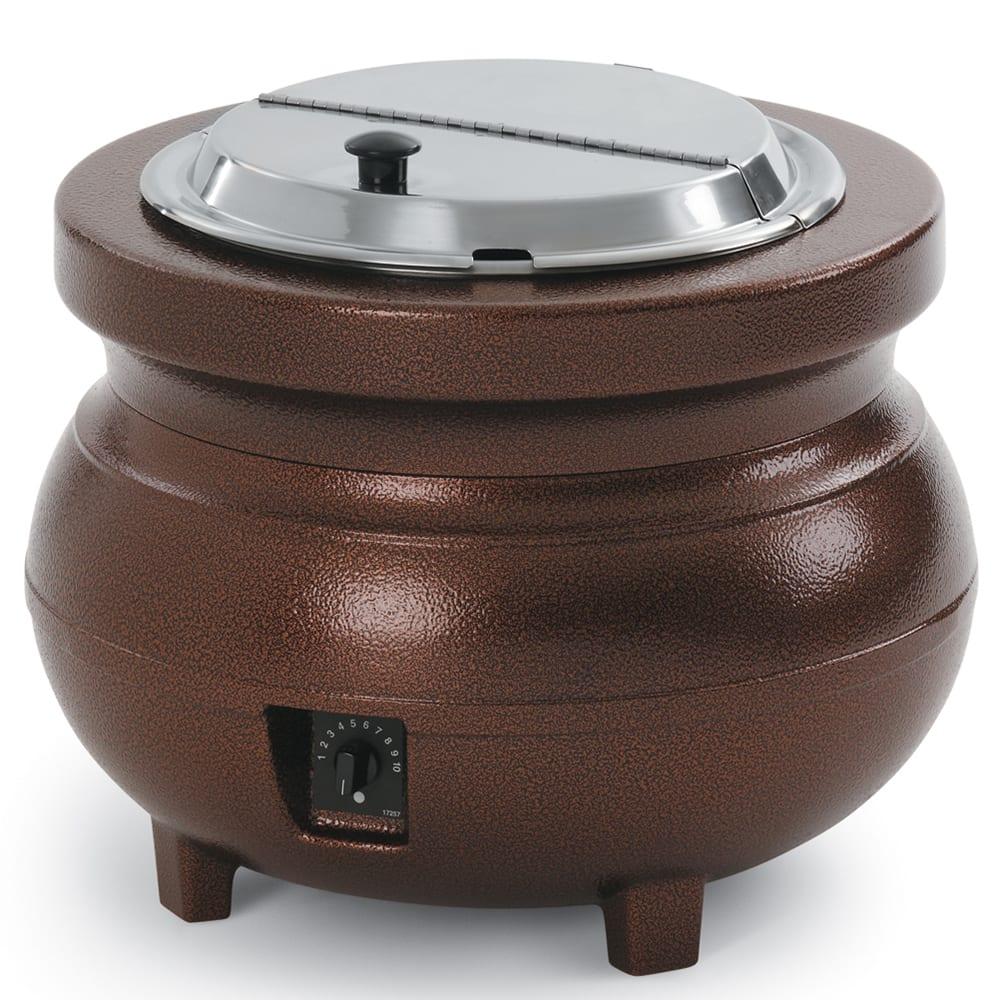 Vollrath 72171 7-qt Warmer Merchandiser Package - Aluminum, Burnt Copper 120v