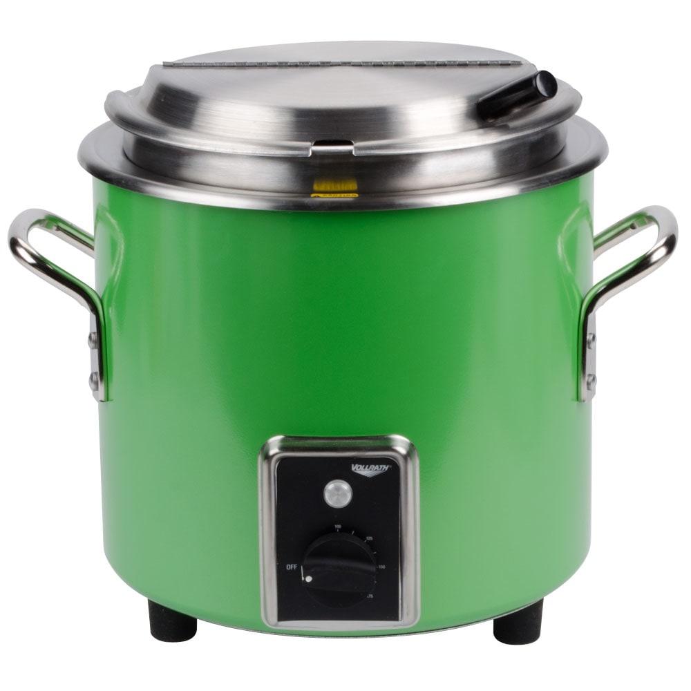Vollrath 7217235 11-qt Kettle Rethermalizer - Thermostat, Green Apple 120v