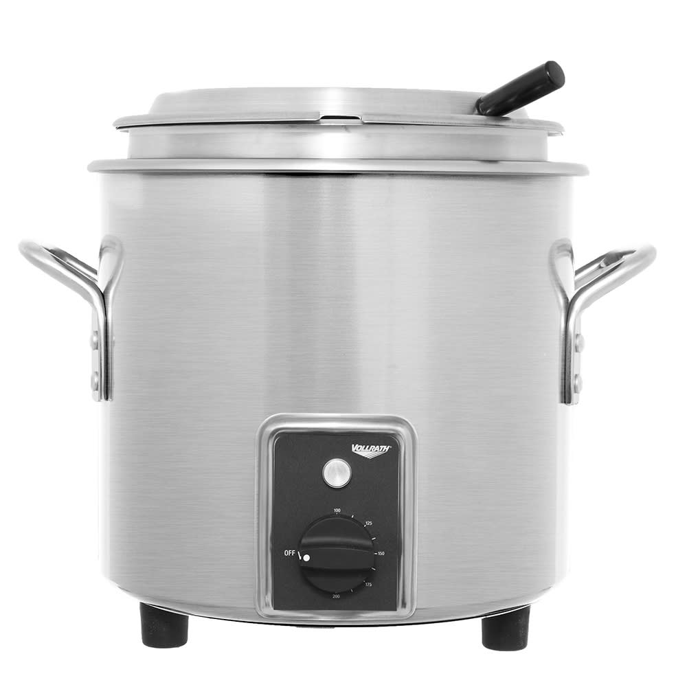 Vollrath 7217710 7-1/4--qt Kettle Rethermalizer - Thermostat, Stainless 120v