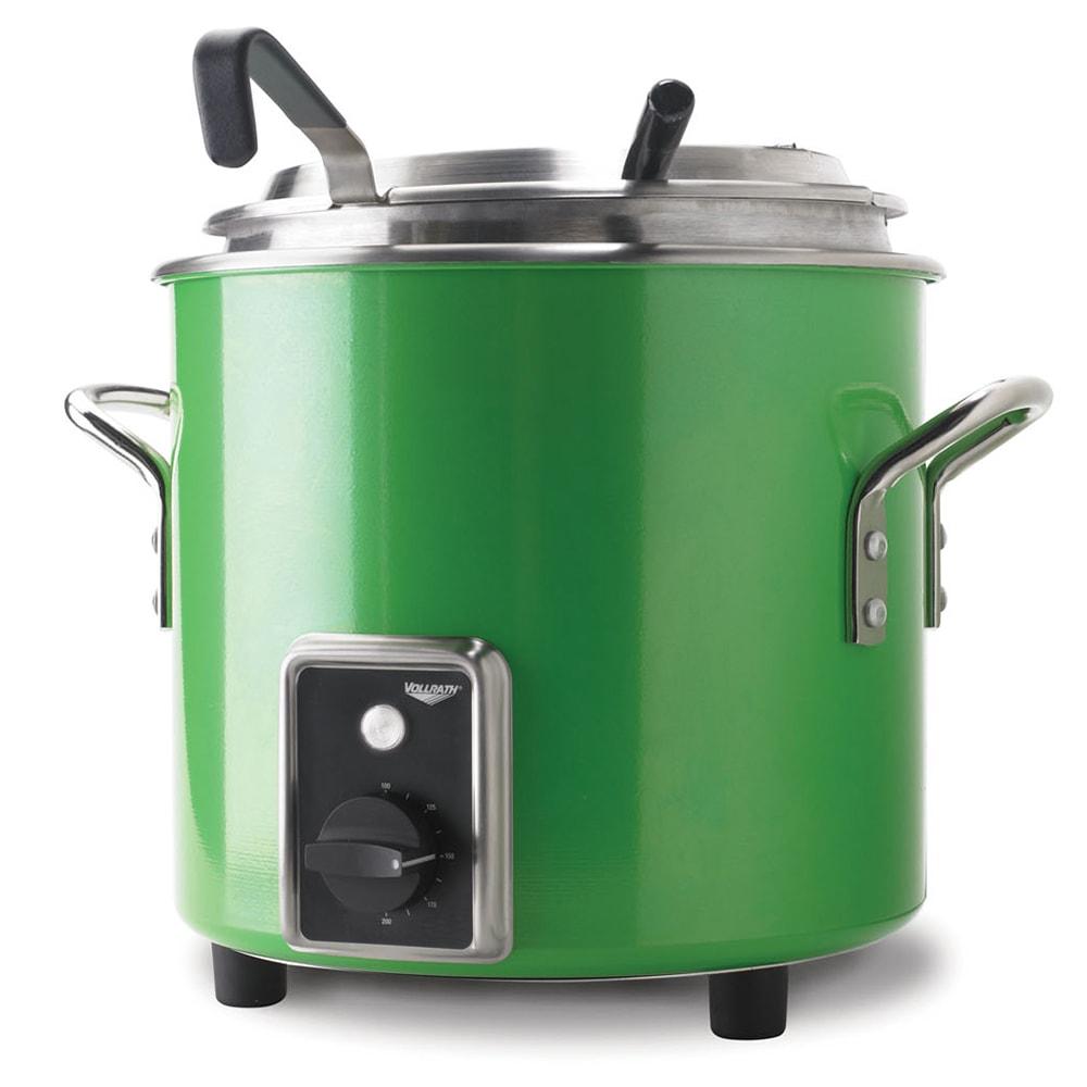 Vollrath 7217735 7-1/4-qt Kettle Rethermalizer - Thermostat, Green Apple 120v
